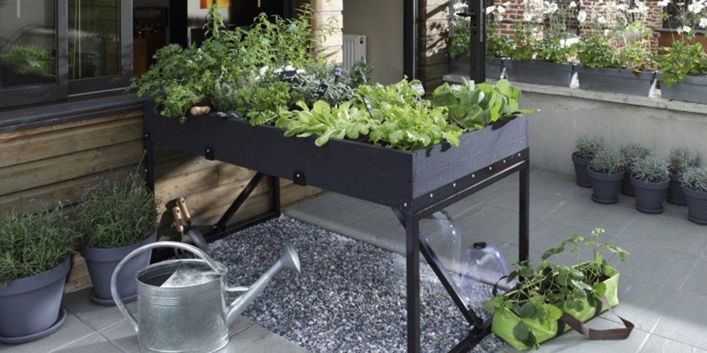 Potager Surélevé Leroy Merlin - Bricolage Maison Et Décoration à Potager Suspendu En Palette