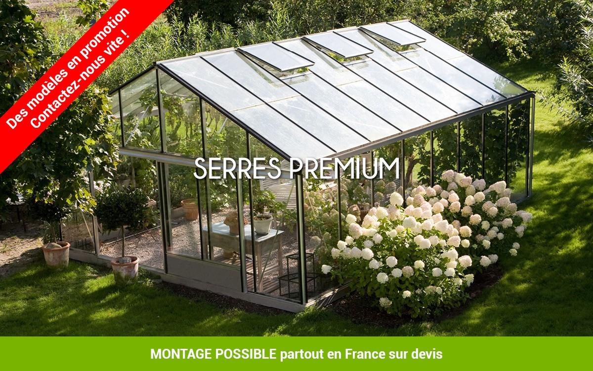 Prix Serre En Verre Professionnel - Mobilier De Jardin Et ... concernant Serre Occasion Verre