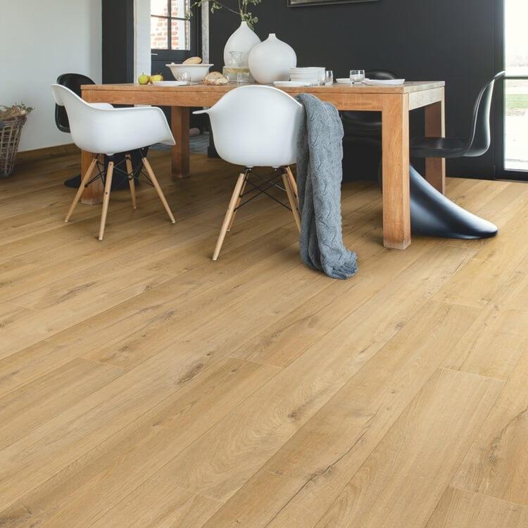Quick-Step Impressive Ultra Soft Oak Natural Imu1855 12Mm ... dedans Quick Step Pont De Bateau