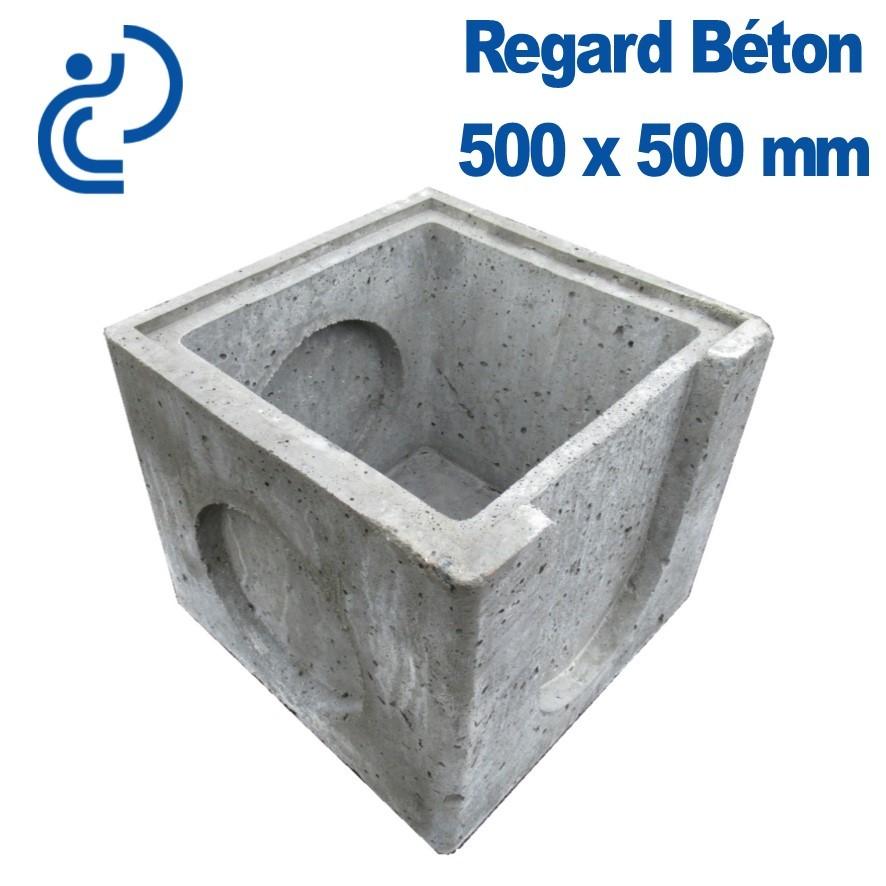Regard Beton 50X50 Avec Grille encequiconcerne Rehausse Regard Castorama