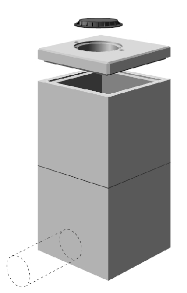 Regard Béton >= 800X800 - Samse serapportantà Rehausse Beton 100X100