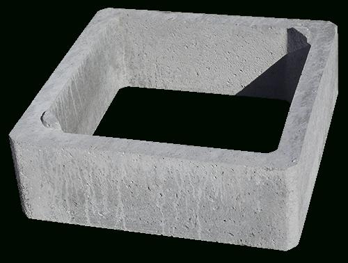 Réhausse Pour Chambre De Visite - Produits - Bastien Lens concernant Rehausse Beton 100X100