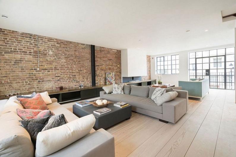 Rénovation Et Décoration Style Loft New Yorkais avec Decoration Brique Rouge Style Loft New Yorkais