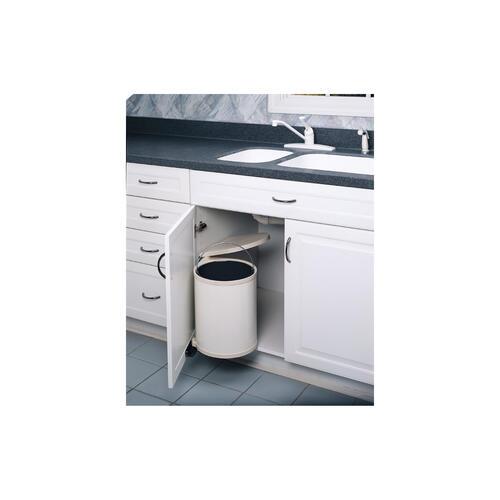Rev-A-Shelf® 14 Liter Pivot Out Trash Can At Menards® dedans Reva Out