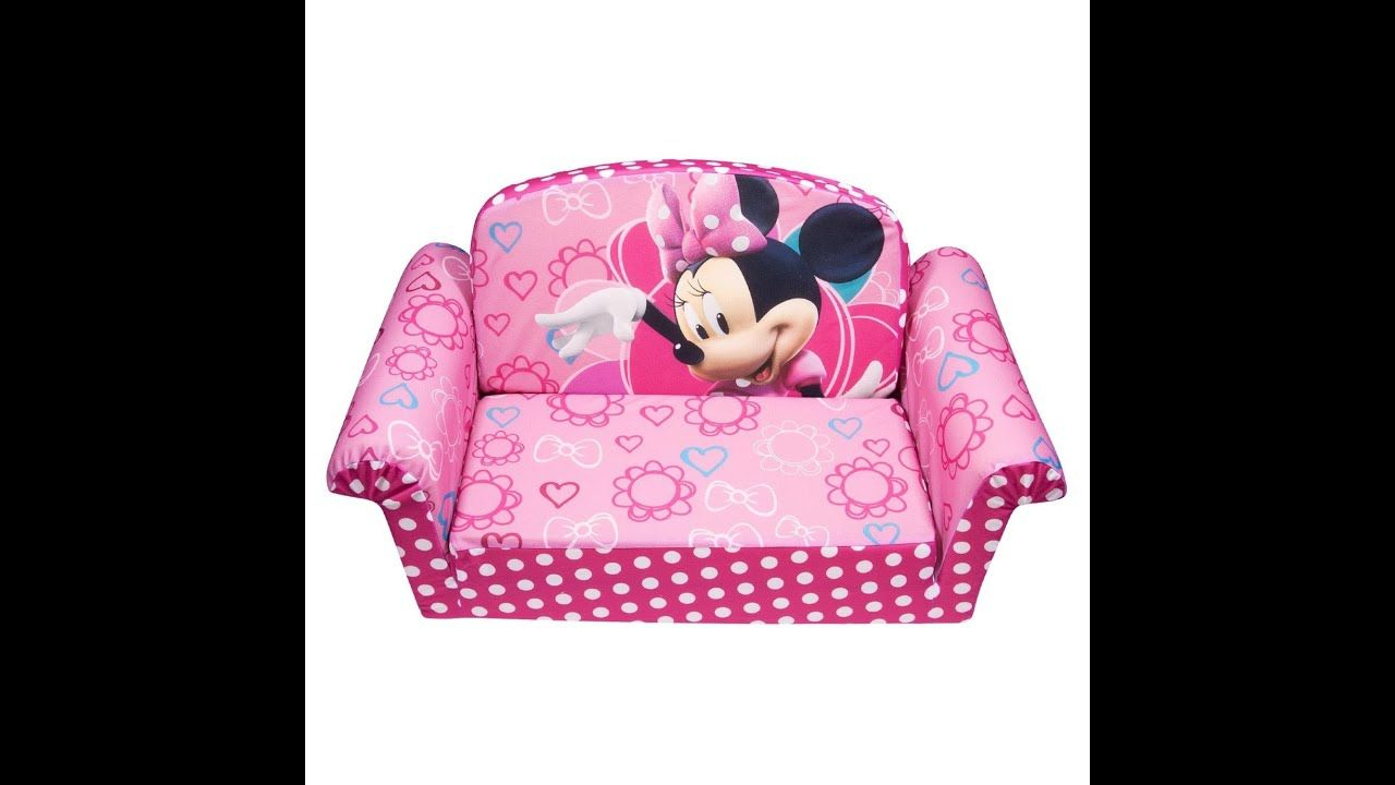 Review: Marshmallow Children'S Furniture - 2 In 1 Flip ... encequiconcerne Minnie Canapé Mousse Sofa - Disney Baby