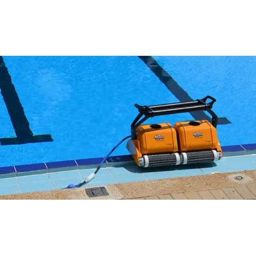 Robot Piscine Dolphin Pro 2X2 Gyro dedans Piscine 2X2