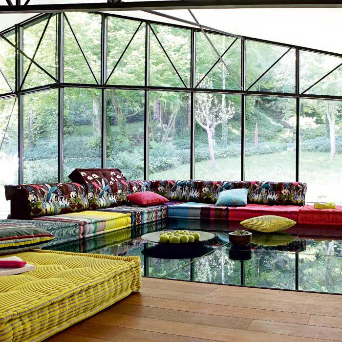 Roche-Bobois-Sectional-Kenzo-Fabrics | Fabricadabra'S Blog dedans Roche Bobois Theoreme