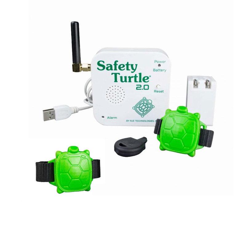 Safety Turtle : Kit 2 Bracelets Pour La Sécurité Piscine ... à Bracelet Alarme Piscine Décathlon