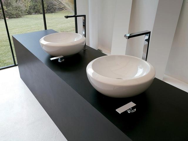 Salle De Bain Italienne Design Par Artceram- Dites Oui Au ... pour Vasque Design Italien