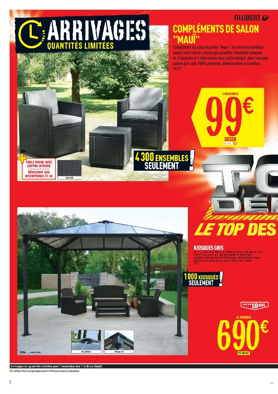 Salon De Jardin Brico Depot Biganos - Jardin Piscine Et Cabane dedans Incinerateur Jardin Brico Depot