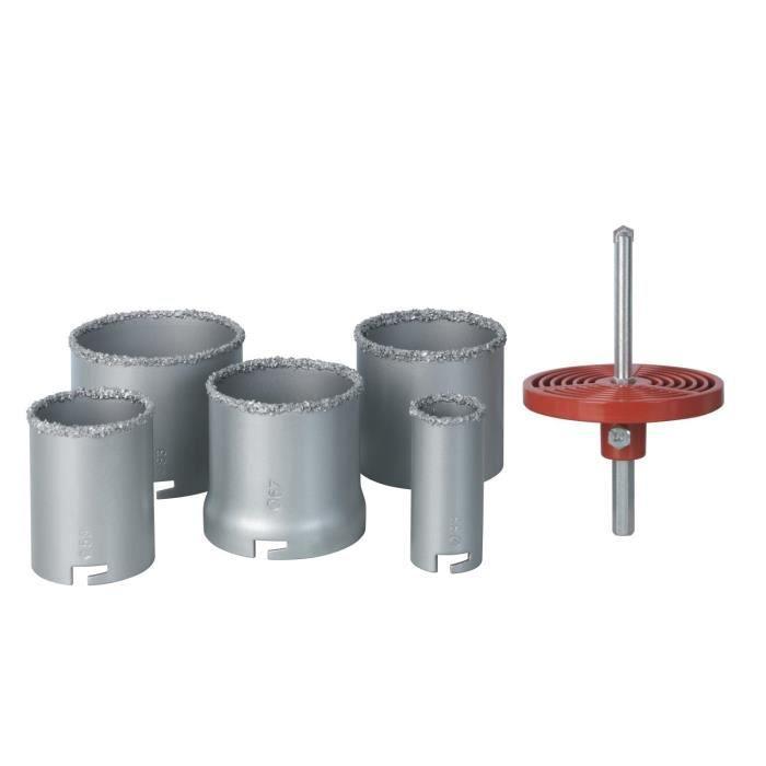 Scie Trepan Carrelage - Rayon Braquage Voiture Norme pour Scie Cloche 100 Mm Castorama