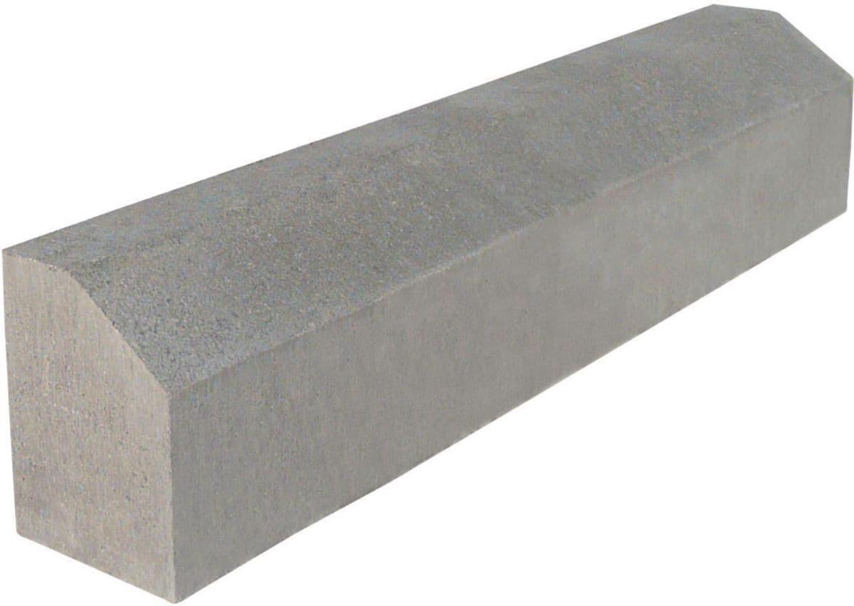 Sepa - Bordure Béton A2 - Classe U+Dh - 100X20X15 Cm   Point.p intérieur Bordure Aluminium Point P