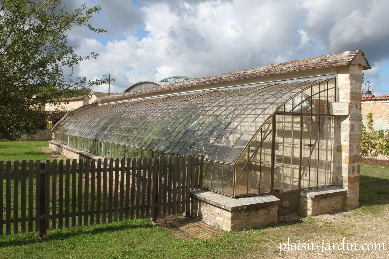 Serre Adossée De La Din Du 19Eme Restaurée En 1994 ... avec Serre De Jardin D'Occasion Particulier