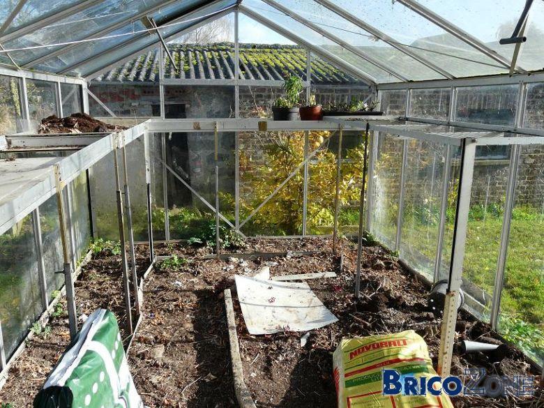 Serre De Jardin destiné Serre Horticole D'Occasion