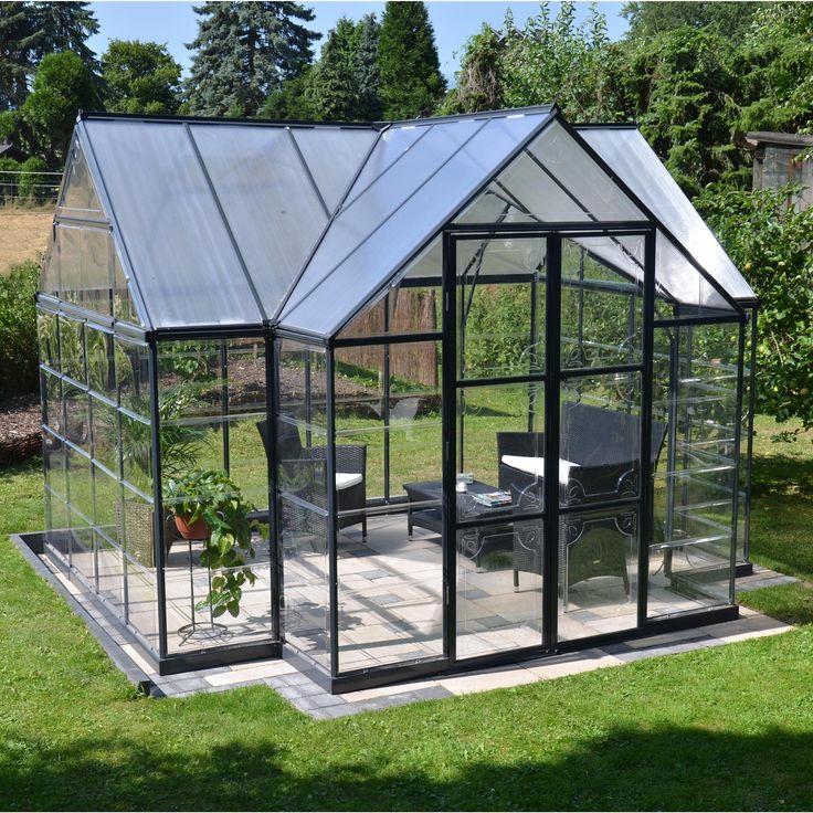 Serre De Jardin En Polycarbonate Simple Paroi Victory ... avec Serre De Jardin Lidl 2020