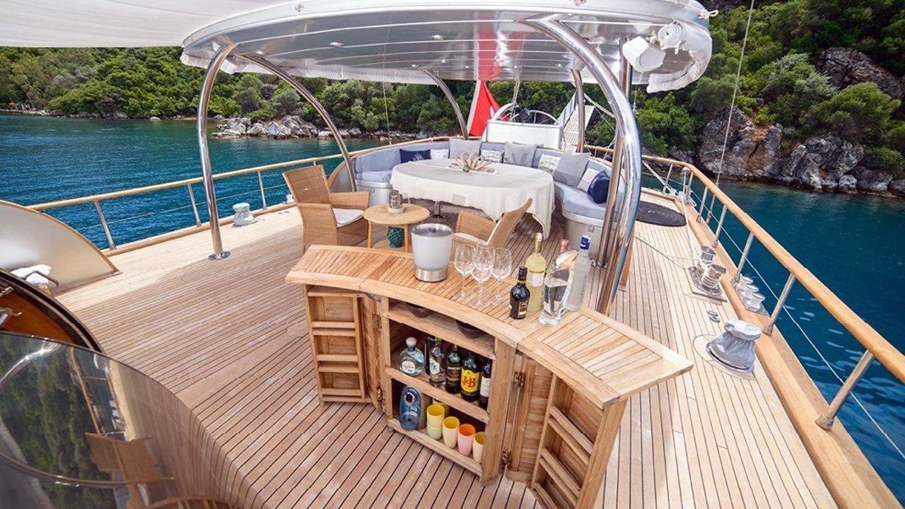 Silver Moon Yacht Charter Turkey, Greek Islands   Gulet ... serapportantà Fullmooncharter