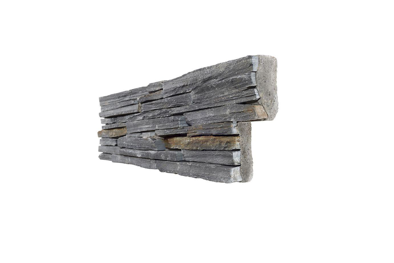 Stonepanel® Ardoise Lames Fines, Panneau En Pierre ... à Panneau Ardoise Extérieur