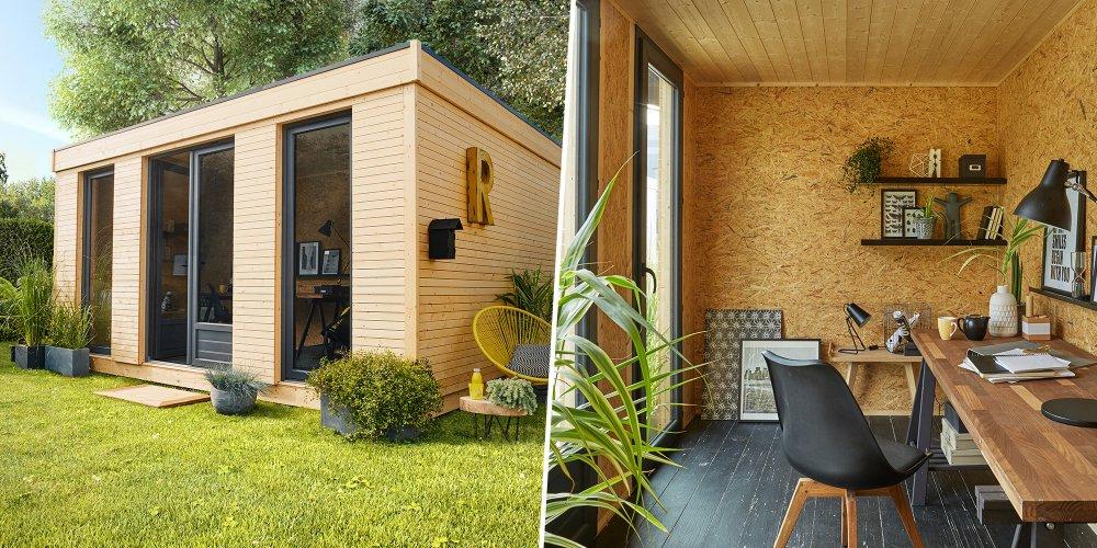 Studio De Jardin : La Solution Pour Avoir Une Pièce En ... destiné Incinerateur De Jardin Chez Leroy Merlin