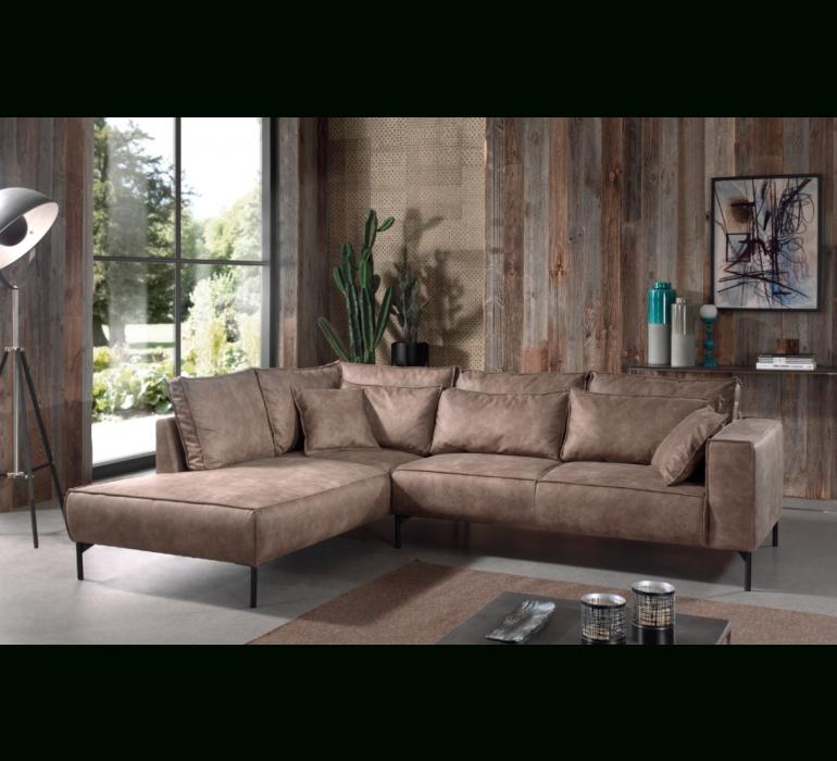 Style Industriel Meuble Tv D Angle Industriel destiné Canapé Brooklyn Alinéa Occasion