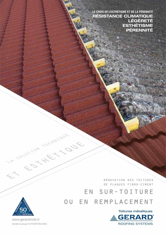 Surtoiture Fibro Ciment - Revêtements Modernes Du Toit avec Plaque Fibro Ciment 2M50
