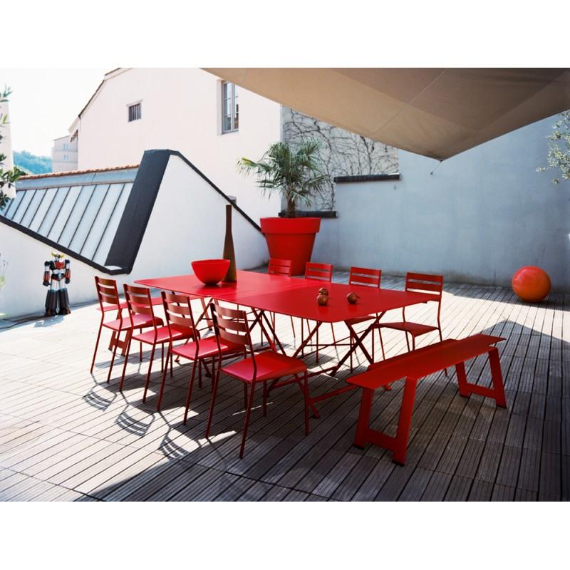 Table 128X128Cm Cargo Fermob - Les Jardins D'Héméra pour Table Fermob Cargo Soldes