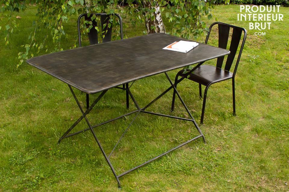 Table De Jardin Compiègne | Table De Jardin, Table Pliante ... encequiconcerne Centrakor Table De Jardin Pliante