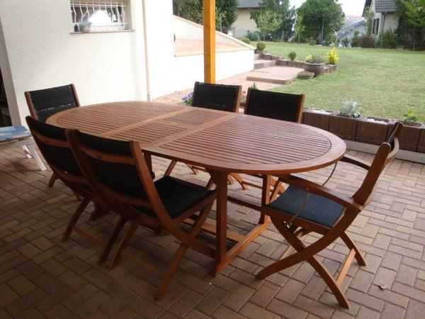 Table De Jardin D'Occasion dedans Salon De Jardin D'Occasion Sur Leboncoin