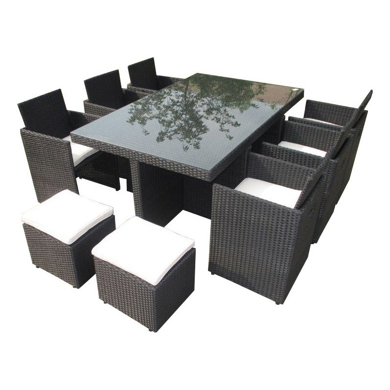 Table De Jardin En Résine - Maison François Fabie pour Tuto Canapé Minecraft
