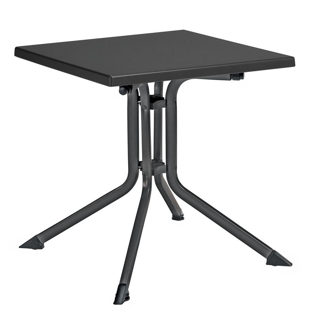 Table De Jardin Pliante Résine Kettler L70 L70 Cm ... concernant Centrakor Table De Jardin Pliante
