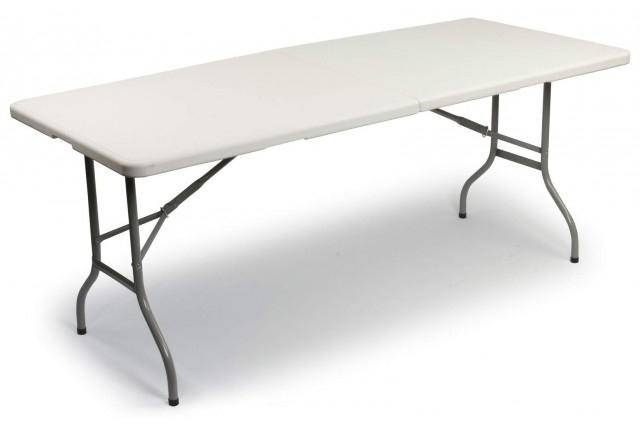 Table Pliante Gibraltar 180 Cm Bardani encequiconcerne Table Pliante 180 Cm Leclerc
