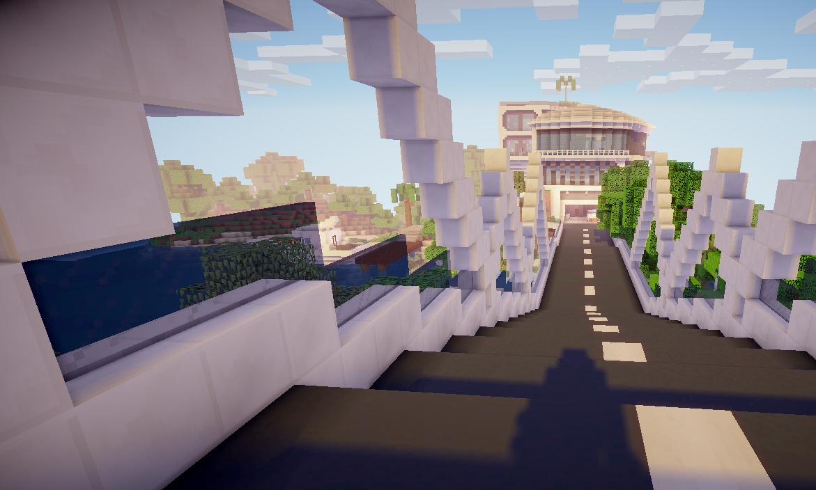 Télécharger «Paradise Manor» (6 Mb) Carte Pour Minecraft serapportantà Canapé Minecraft Moderne