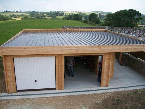 Terrasse Couverte En Bac Acier - Nos Conseils destiné Toiture Terrasse Bac Acier