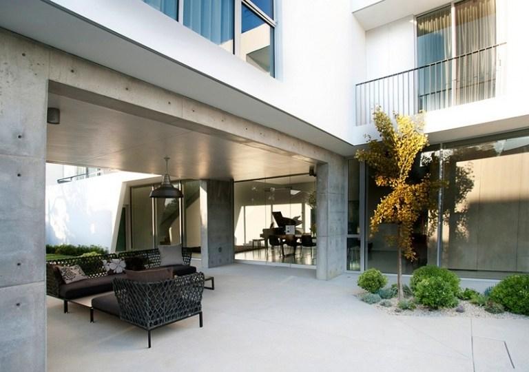 Terrasse Moderne - Photos Fascinantes Et Idées Aménagement avec Terrasse Couverte Moderne