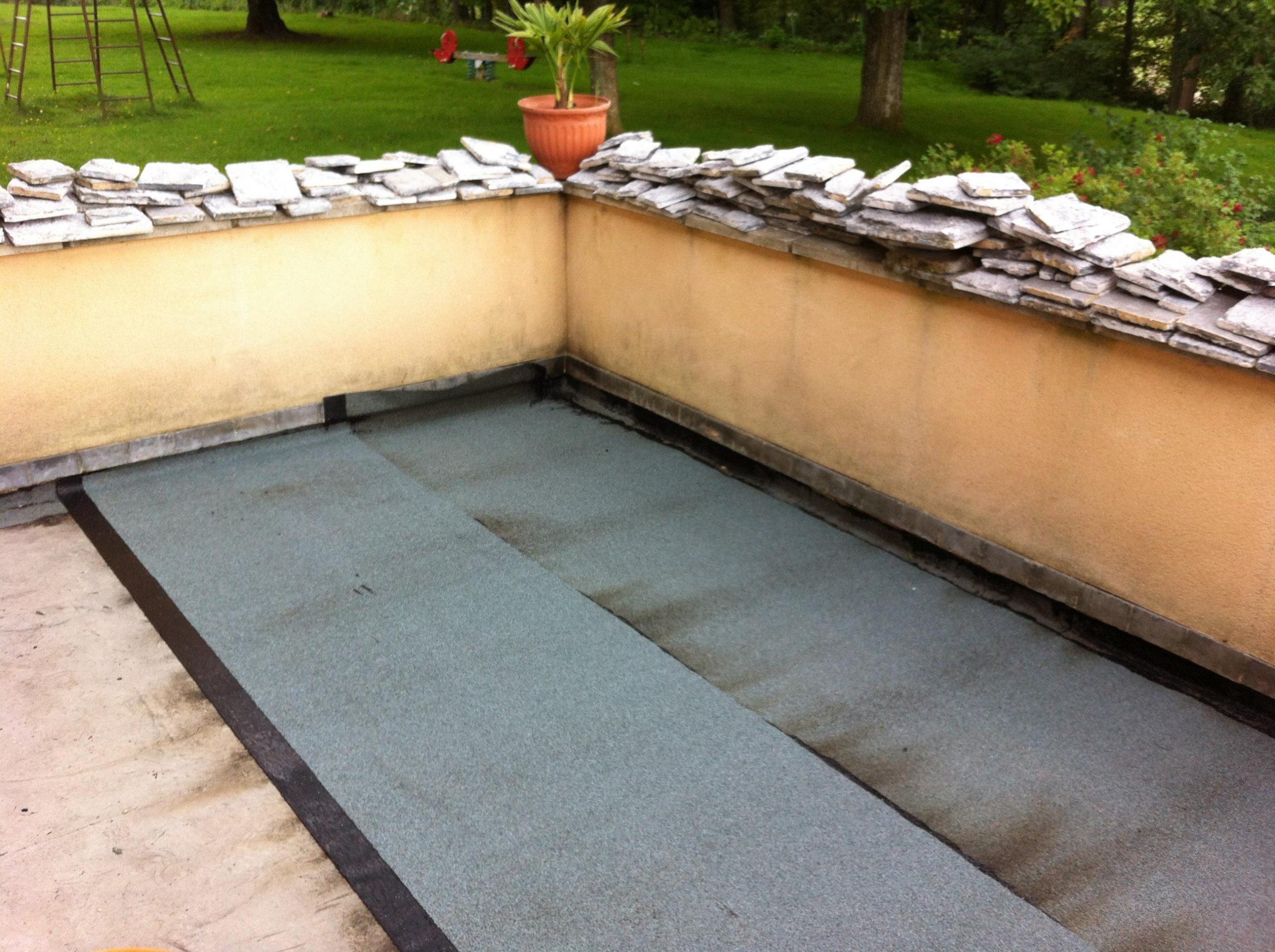 Terrasse | Rénovation Complète De Notre Maison encequiconcerne Étanchéité Terrasse Goudron