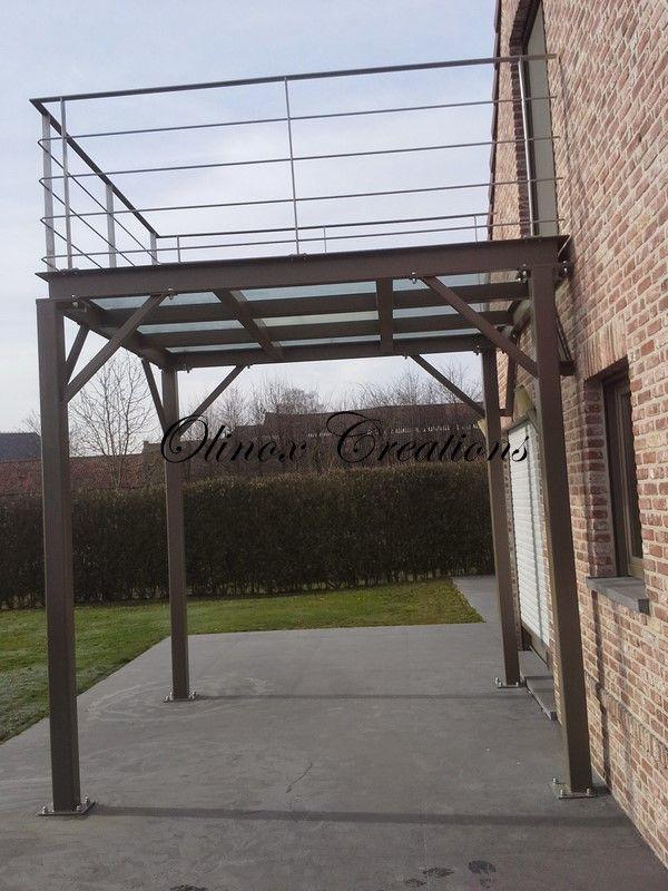 Terrasses Et Balcons Suspendus, Belgique Et Nord De France ... concernant Terrasse Sur Pilotis En Kit Belgique