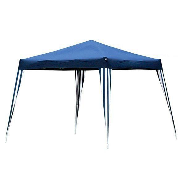 Tonnelle Pliante Tente De Jardin Impermeable Bleu - Achat ... serapportantà Tonnelle Ronde 3M