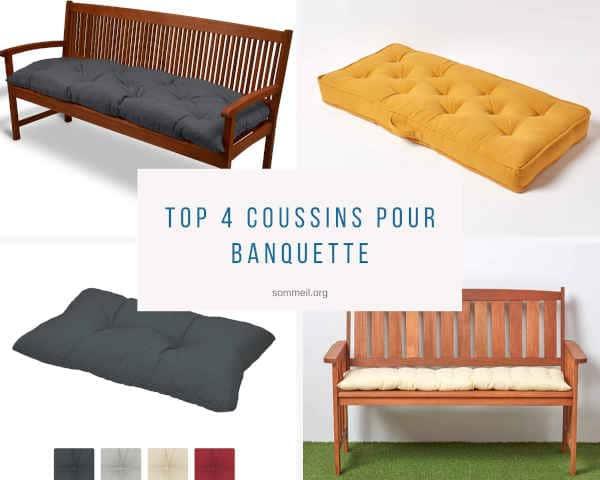 Top 4 Coussins Pour Banquette Pour Extérieur Et Intérieur pour Coussin Banquette Ikea