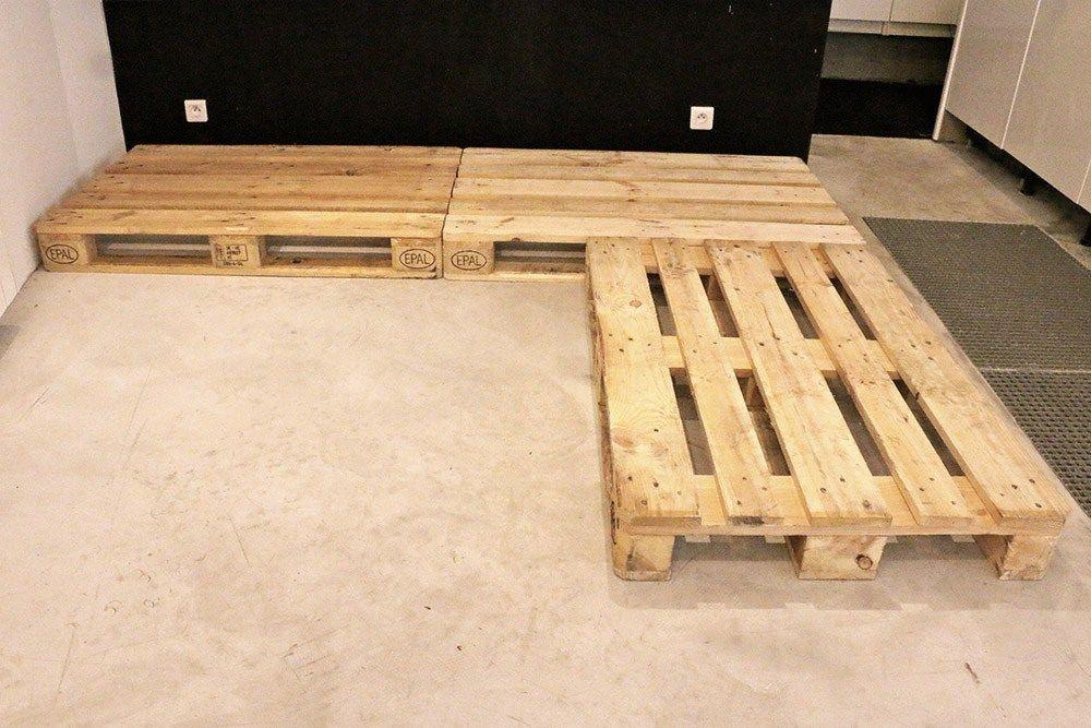 Tuto Canape En Palette | Fabriquer Un Canapé, Canapé ... pour Fabriquer Un Rolling-Deck