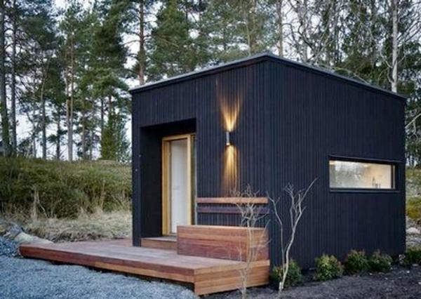 Un Abri De Jardin - Design Differents - Archzine.fr intérieur Cabane En Dur