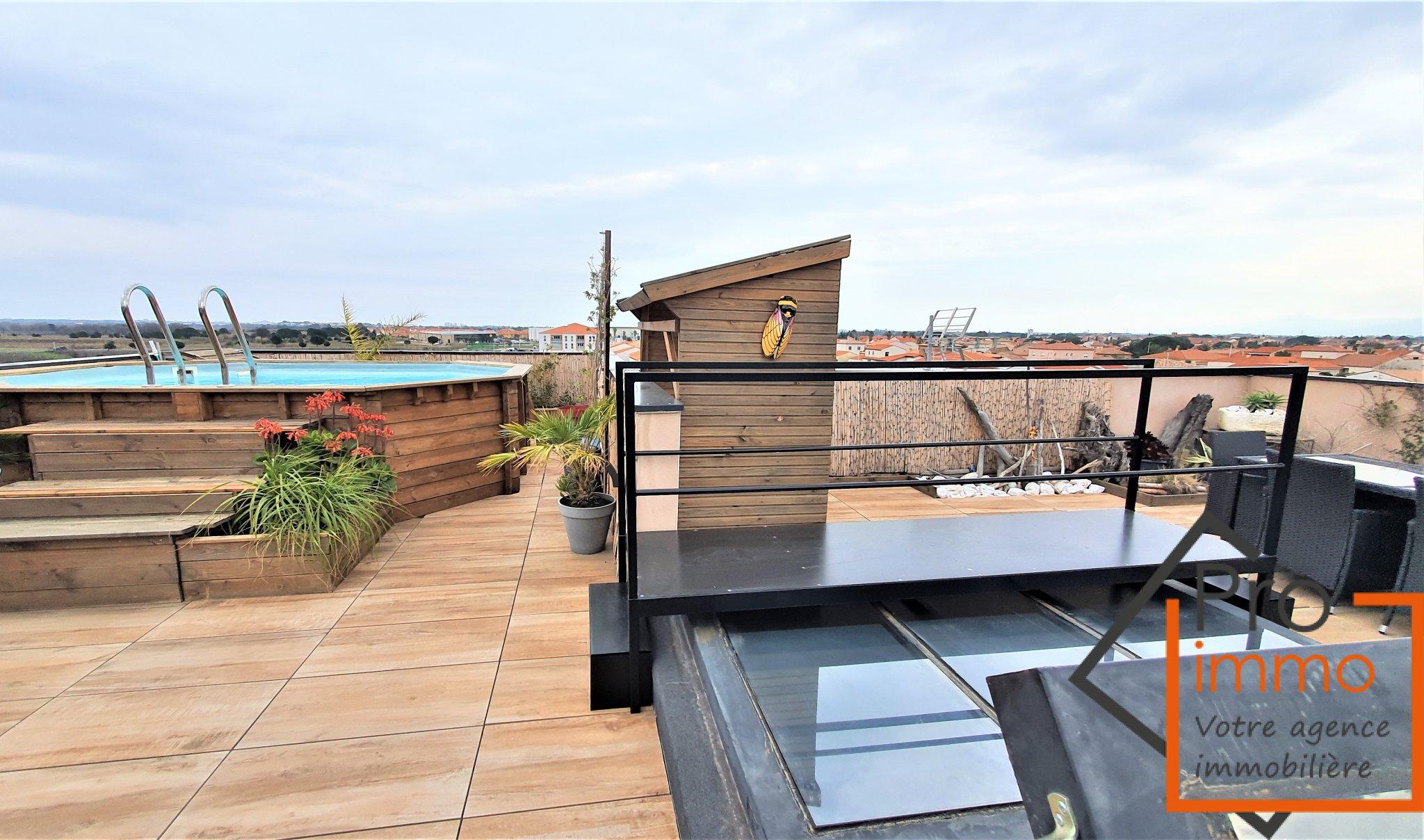 Vente Appartement T4 Avec Toit Terrasse Avec Vue A 360° tout Toit Terrasse Sans Acrotère