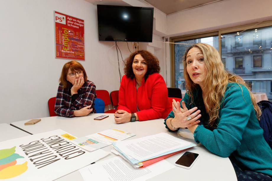 Voeux Du Parti Socialiste : Faire Vivre Une Démocratie ... concernant Viviane Driquez