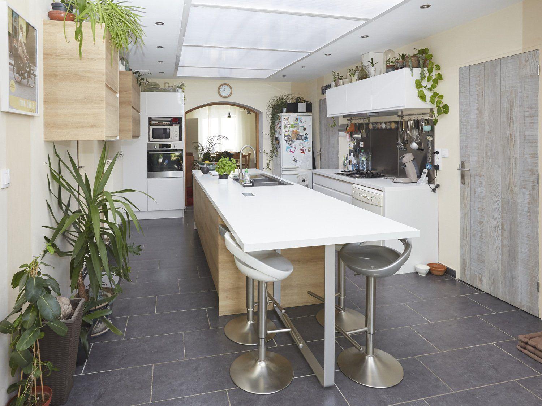 Vos Réalisations De Cuisines | Cuisine 3D, Carrelage ... serapportantà Carrelage Boheme Leroy Merlin