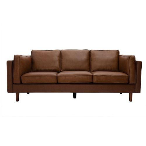 Wood Chair Second: Pelage De Canape En Cuir Reconstitue concernant Canapé Brooklyn Alinéa Occasion