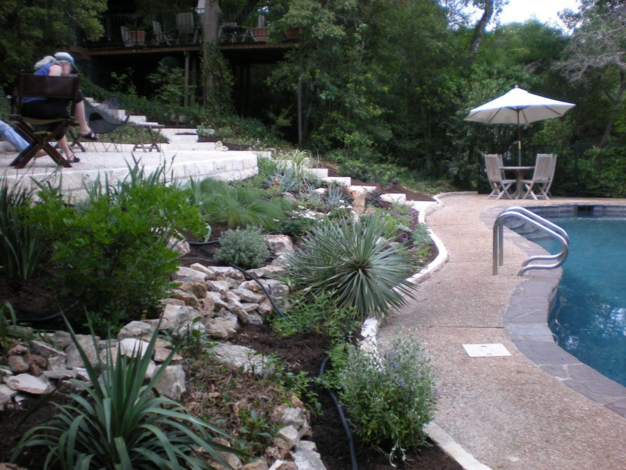 Xeriscaping For Water Conservation: Planning, Soil ... pour Piscine Gomme Recyclé