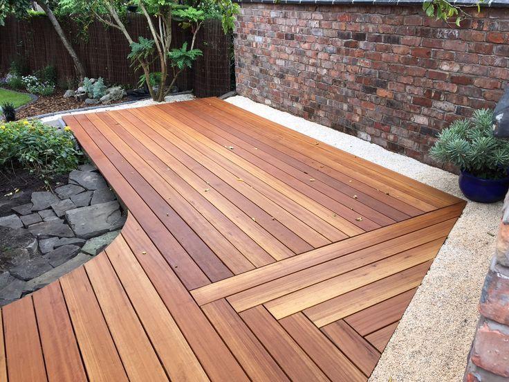 Yellow Balau Hardwood Deck - Image Thanks To Conor ... tout Red Balau Bangkirai